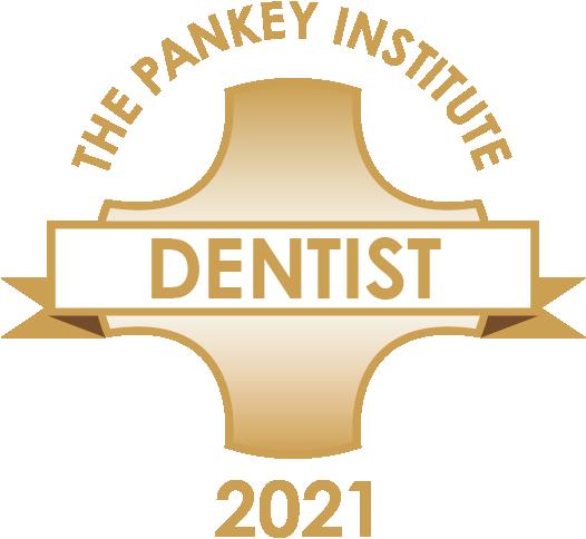 2021 Pankey Dentist Badge